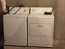Kenmore Washer and Dryer in Elgin, Illinois