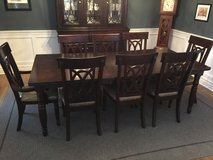 Dining Room Table with 8 chairs in Elgin, Illinois