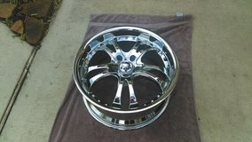 CHROME CASINO RIMS: 18 x 8   5 x 110.00,     MINT CONDITION in The Woodlands, Texas