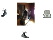 Professional Life Fitness Elliptical in Hinesville, Georgia