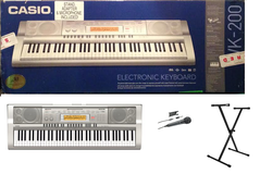CASIO Electric Piano WK 200 IN BOX!!! in Hinesville, Georgia