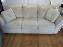 couch - excellent condition - well cared for - cream colored microfiber in Nellis AFB, Nevada
