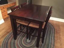 Counter Height Table and Chairs in Elgin, Illinois