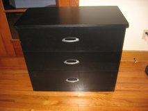 South Shore 3-Drawer Black Dresser in Morris, Illinois