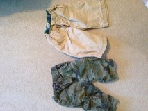 Boys cargo shorts size 8/ both for $5 in Morris, Illinois