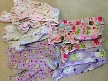 Girls 4t footed pajamas all for $10 in Morris, Illinois