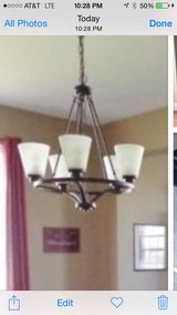 Light dining kitchen chandelier in Morris, Illinois