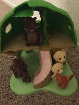 Toy girl calico critters with 9 farm animals in Travis AFB, California