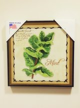 Mint Herb Wall Art Decoration in Plainfield, Illinois