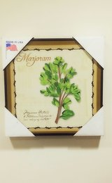 Marjoram Herb Wall Art Decoration in Plainfield, Illinois