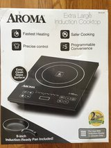 BNIB Aroma extra large induction cooktop in Fort Riley, Kansas