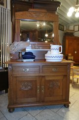beautiful Art Nouveau dresser with mirror in Spangdahlem, Germany