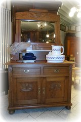elegant Art Nouveau dresser with mirror in Ansbach, Germany