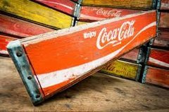 Old Coca Cola Crates in Alamogordo, New Mexico