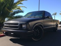 Chevy S10 Murdered Out in Camp Pendleton, California