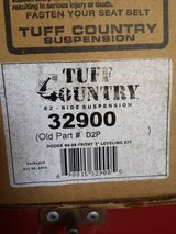 Tuff Country 2 inch level kit paid $95. dodge 1994-2013 NEW in Fairfield, California