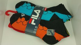 FILA Qwick-Dry 6 Pack Men's Socks Multicolored in Tinley Park, Illinois