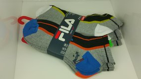 FILA Qwick-Dry 6 Pack Men's Socks Multicolored Variations in Joliet, Illinois