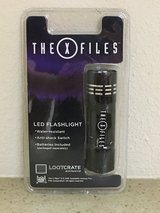 The Xfiles collectible flashlight in Fort Polk, Louisiana