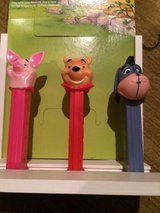 Winnie the Pooh pez collection in Okinawa, Japan