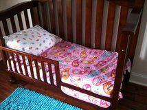 Toddler Paisley bed set and accessories in Beaufort, South Carolina