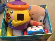Box of toddler toys in Warner Robins, Georgia