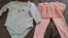 12 month girls outfit in Naperville, Illinois