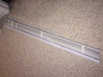42.5 inch wide white vinyl blinds in Naperville, Illinois