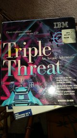 Triple threat in Yucca Valley, California