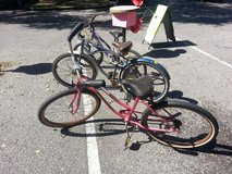 Bicycles in Beaufort, South Carolina