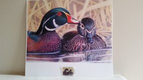 Duck Print w/ 2008 TN stamp in Dickson, Tennessee