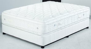 Monster Plush US King Size Mattress-18inches high - monthly payments possible in Stuttgart, GE