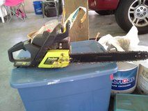 POULAN CHAIN SAW WOOD MASTER 2450 18 INCH in Camp Lejeune, North Carolina