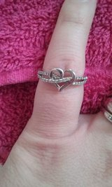 Sterling silver heart ring in Watertown, New York