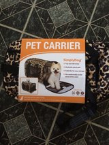 New Pet Carrier fie up to 15 pds in Naperville, Illinois