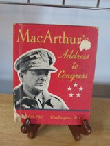 Book~MacAruthu's Address to Congress April 19, 1951 in Sandwich, Illinois