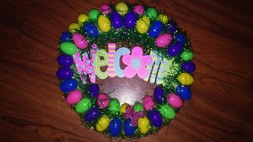 Easter Eggs wreath in The Woodlands, Texas