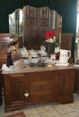 antique bedroom set from the early 1900's in Ramstein, Germany