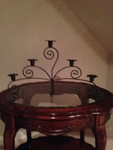 Tiered candle holder in Bolingbrook, Illinois