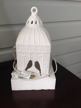NEW IN BOX - White Ceramic Birdcage Nightlight / Accent Light in Batavia, Illinois