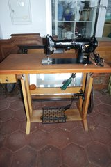 Antique professional Phoenix sewing machine in Spangdahlem, Germany