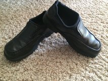 Black Dress Shoes-Size 5 1/2-Boys/Mens in Naperville, Illinois