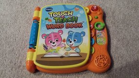 vtech touch and teach word book in Naperville, Illinois