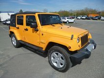 2012 Jeep Wrangler Unlimited Sahara Ltd in Aviano, IT