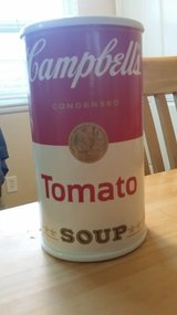 Campbell's soup bank in Oswego, Illinois