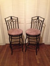 Wrought iron bar stools in Glendale Heights, Illinois