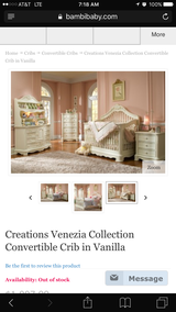 Victorian Crib/Bedroom Set in Fort Polk, Louisiana