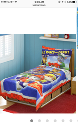 Paw Patrol/Dinosaur Toddler Bedding in Conroe, Texas