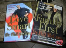2 Dr. Phil Book Lot Family First & Love Smart in Kingwood, Texas