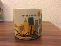 Starbucks Pittsburgh Coffee Mug You Are Here Collection in Ramstein, Germany
